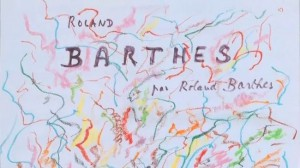 Barthes, Roland Barthes par Roland Barthes, 1975