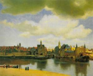 Johannes Vermeer, Vue de Delft, ca. 1559-1560