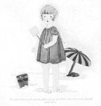 Fig. 6. La plage : un terrain de jeu nouveau qui témoigne de l'émergence de la société des loisirs. Source : J. Walter Thompson Company. 35mm Microfilm Proofs, 1906-1960 and undated. Reel 2.