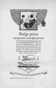 "Fig.5. "" Publicité pour Gruen Guild Watches, v. 1924. Source : J. Walter Thompson Company. 35mm Microfilm Proofs, 1906-1960 and undated. Reel 12."