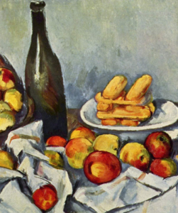 Fig.26. Paul Cézanne, The Basket of Apples (Le panier de pommes) (détail), 1890-94, 65 x 80 cm, Art Institute of Chicago.