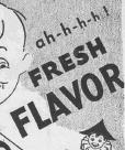 """Fig.7a. L'espièglerie enfantine détournée. Version masculine. """"That flagrant flavor of fresh spearmint!"""" Publicité pour Hathaway. Source inconnue, non datée, vers 1931. Source : J. Walter Thompson Company. 35mm Microfilm Proofs, 1906-1960 and undated. Reel 40."""