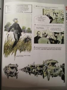 Fig.3. Castex, Battaglia, L'Histoire de France en bande dessinée (extrait). La Grande Guerre, 1978. La Grande Guerre en Bande dessinée. Beaux-Arts Magazine, 2014, p.51