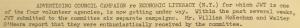 """ig. - """"Advertising Council Campaign for Economic Literacy"""" - The J.W.T News. 1er septembre 1947, vol.2, no., p.2. Source : J. Walter Thompson Company. Newsletter collection, 1910-2005. Box MN9 (1945-1950). L'Economic Literacy Campaign a pour but avoué d'améliorer la connaissance que les citoyens américains ont de leur système économique national."""