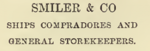 The Smile that was-child-like and bland' is upon the face of every Celestial storekeeper… (Smiler & Co (p.85)
