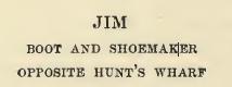 Enseigne 1 - Jim the shoemaker